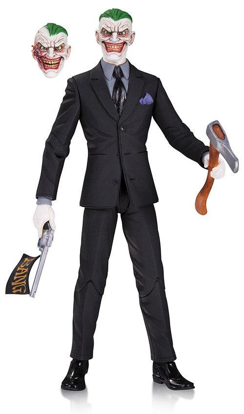 DC COMICS Designer Series DC Collectibles Batman The Joker by Greg Capullo PVC Action Figure Model Anime Kids Toys Doll 16cm dc comics designer series dc collectibles batman the joker by greg capullo pvc action figure model toy 16cm