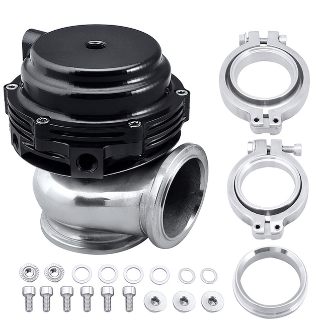 Universal External Turbo Wastegate With V-Band With Flanges