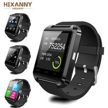 Купить с кэшбэком New Men Women's Smart Watch Clock Sync Notifier Support Bluetooth Connectivity For Android Phone Smartwatch PK GT08 DZ09 GV18 U8