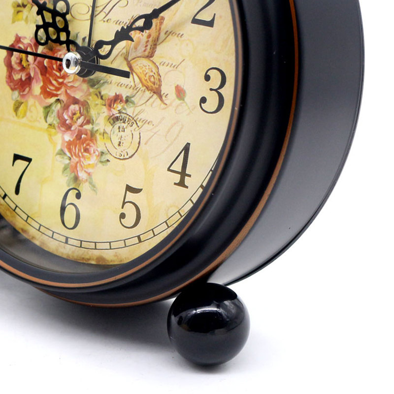 Aliexpress.com : Buy 4 Inch Retro American Desktop Alarm Clock Silent Clock  Creative Mute Home Bedroom Office Clocks From Reliable Office Clock  Suppliers On ...