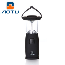 Портативный светодиодный туристический светильник на солнечных батарейках, ручной источник энергии, прожекторный фонарь power ful 6 светодиодный фонарик черный