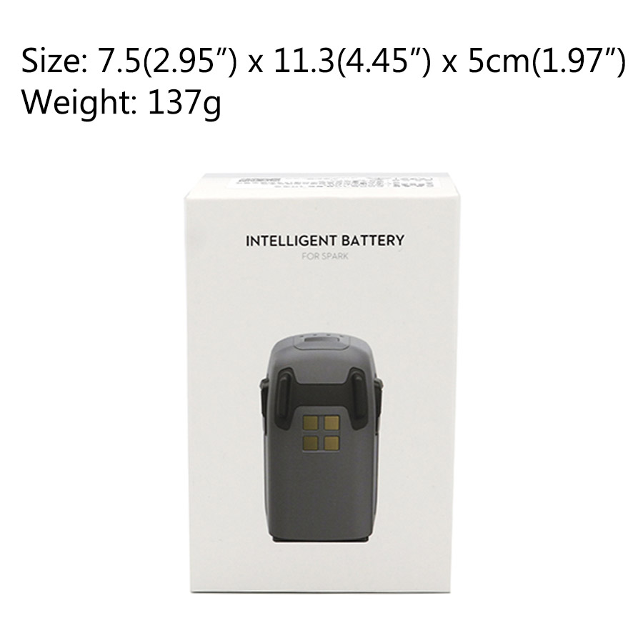 DJI Spark Intelligent Flight Battery & Drone Remote Controller & Spark Battery Charger Free Shipping