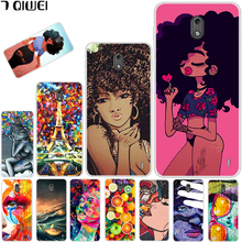 hot deal buy 5.0'' for nokia 2 case nokia2 cover soft silicone tpu phone case for nokia 2 2017 cover cool girl for nokia 2 dual ta-1029 para