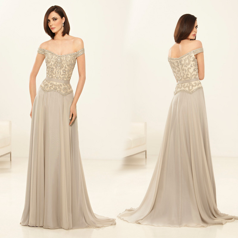 Popular Off The Shoulder Mother of The Bride Dresses-Buy Cheap Off ...