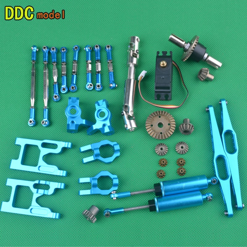 1/12 RC Car Upgrade Parts Drive Shaft Universal Transmission Axis Rockerarm For  Wltoys 12428 12423