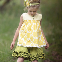 Cute Ruffle Short Set Baby Children S Clothes Girls Summer Spring Wearing Persnickety Remake Outfits Kids
