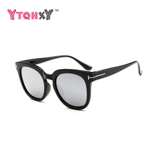 Vintage sunglasses women Classic cat eye sun glasses for women Oversize lunette de soleil femme Big frame Y111