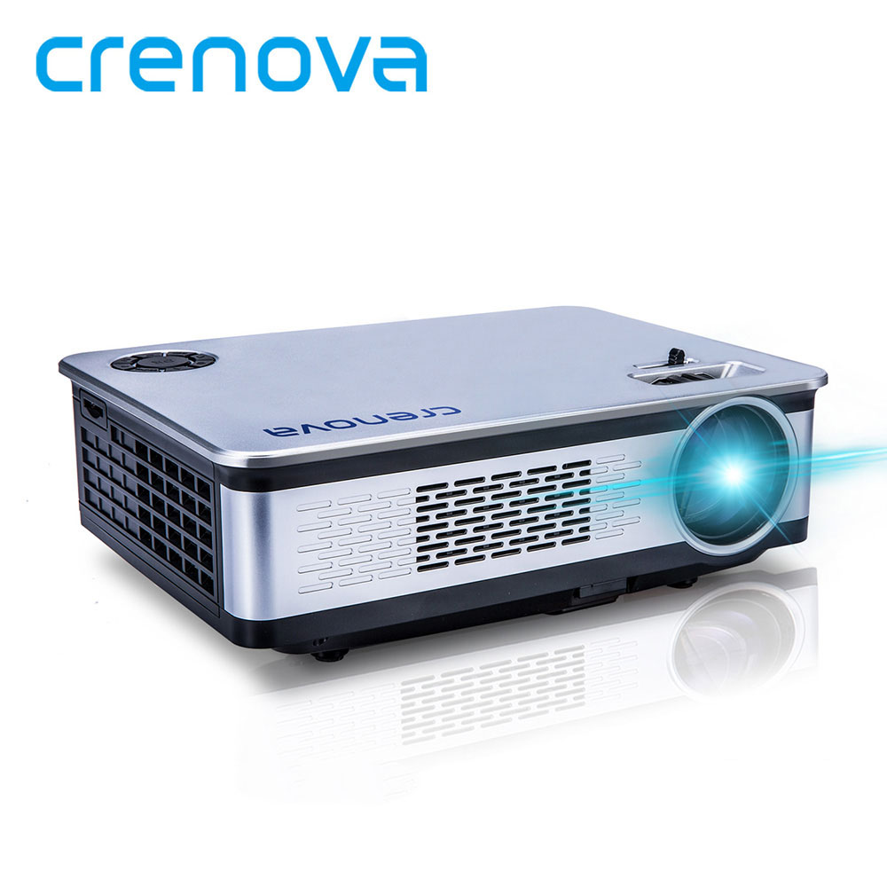 CRENOVA 2018 New Led Projector For Proyector Full HD 1920*1080p With USB HDMI VGA AV For Home Theater Movie Video Projector dual hdmi sd usb av vga video movie proyector full hd easy micro projector emp gp8s lcd mini portable 4k