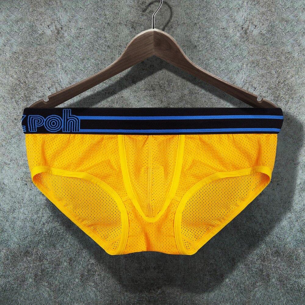 Sexy Men Underwear Briefs Men Underwear Shorts Breathable Low Waist Underpants