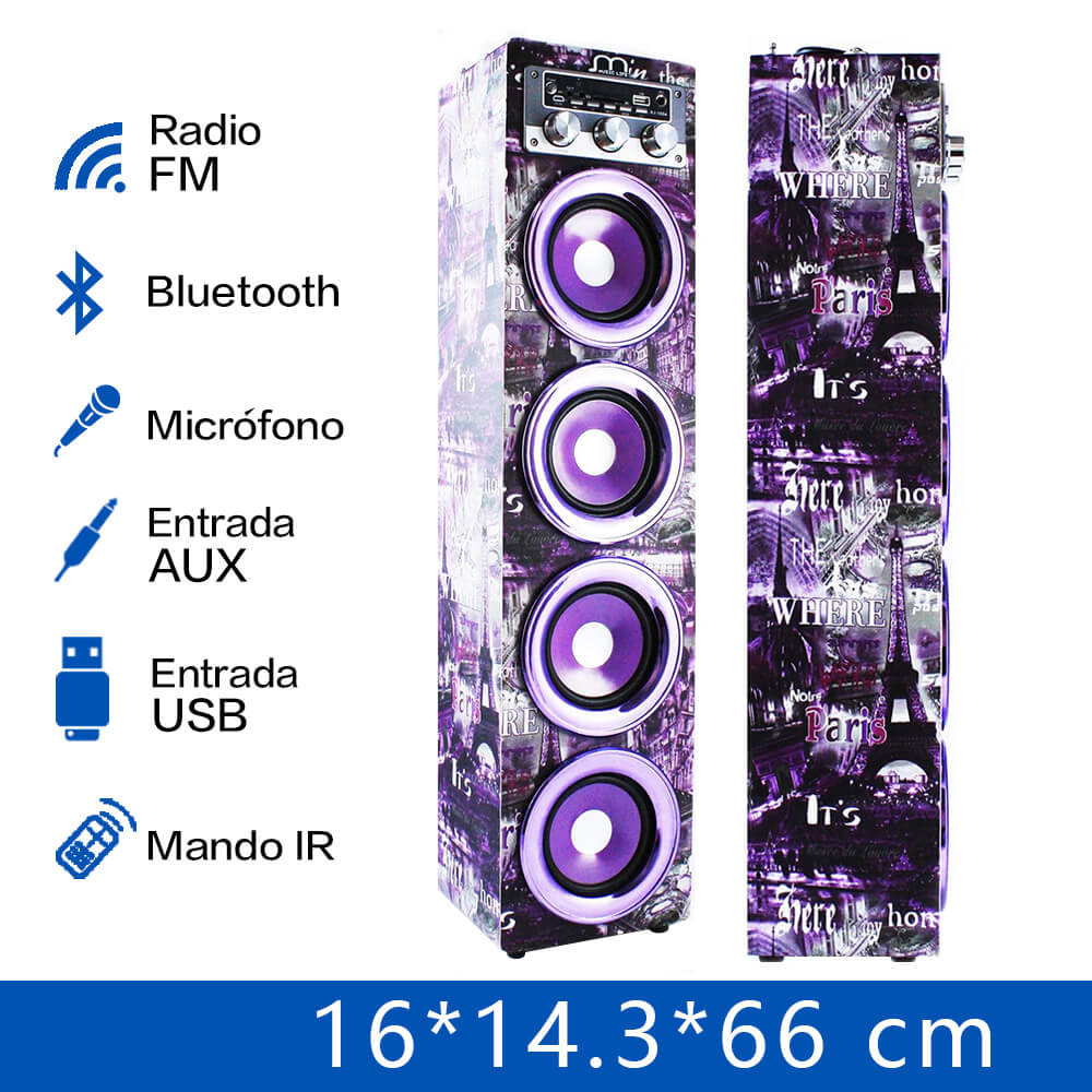 Bluetooth Karaoke Speaker with Microphone FM Radio MP3 High power Portable Speaker Tower for Party BBQ high power loudspeaker voice amplifier bluetooth portable led light sound box speaker with microphone radio usb mp3 music player