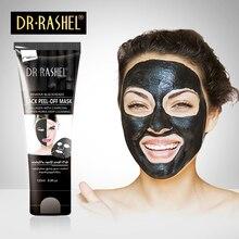 2 pcs Charcoal Black Mask Nose Blackhead Remover Facial Masker Peel Off Masque Acne Treatment DR RASHEL