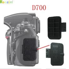 Для Nikon D700 экспорт данных крышка задняя крышка резиновая DSLR камера Запасная часть