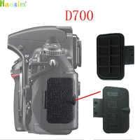 For Nikon D700 Export data cover Back cover Rubber DSLR Camera Replacement Unit Repair Part