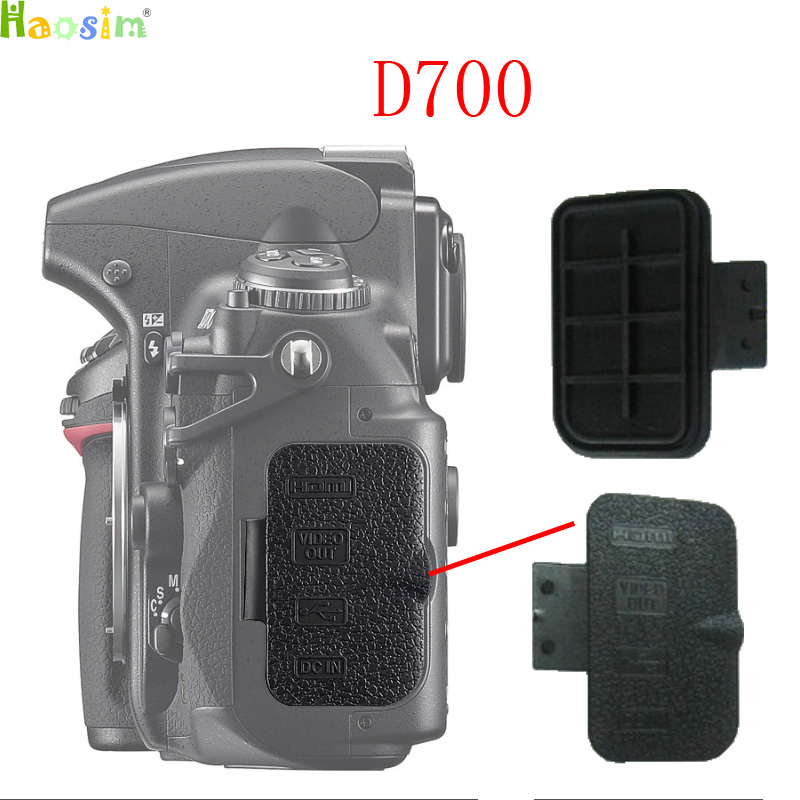 For <font><b>Nikon</b></font> <font><b>D700</b></font> Export data cover Back cover <font><b>Rubber</b></font> DSLR Camera Replacement Unit Repair Part image