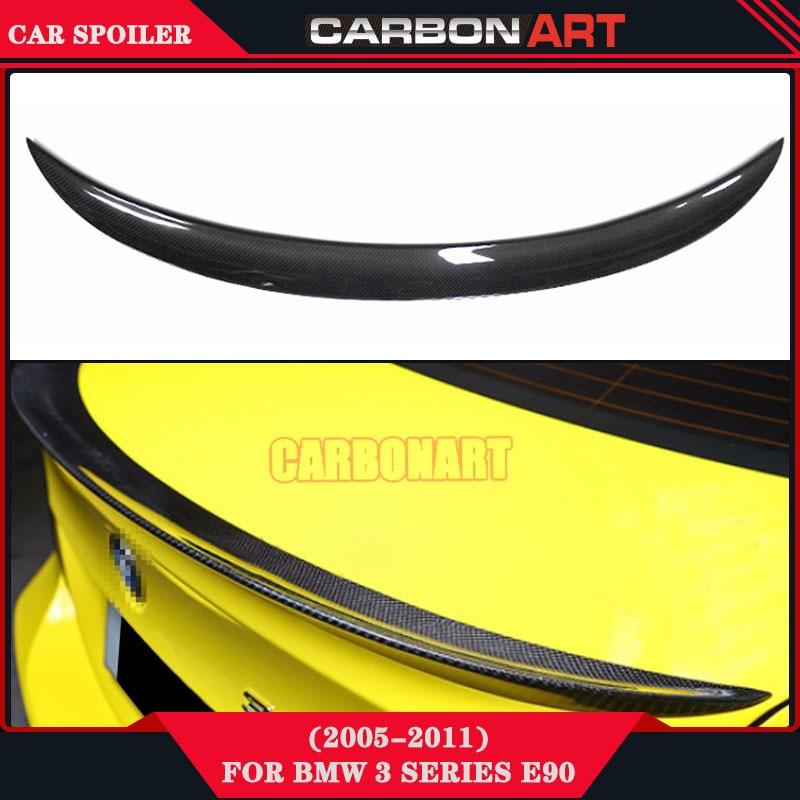 performance design carbon fiber aftermarket body kits car parts gt wing spoiler for bmw 3 series e90 e91 335i 330i 325i 320i спойлер bmw e90 318i 320i 325i 330i m3