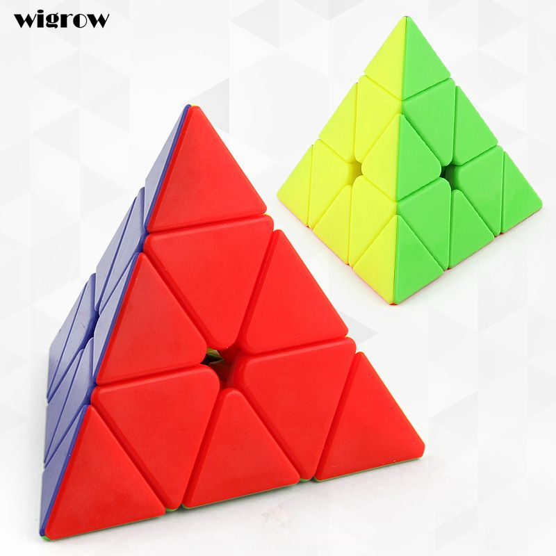 Pyramid Pyraminx Magic Cube Puzzle Cubes Puzzle Gifts Educational Toys for Children Magic Cube Kids Intelligence Toy