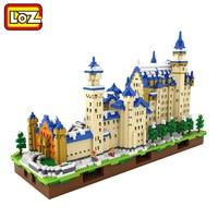 LOZ Diamond Building Blocks The World Famous Building Model Guggenheim Museum Sungnyemun The White House Trevi