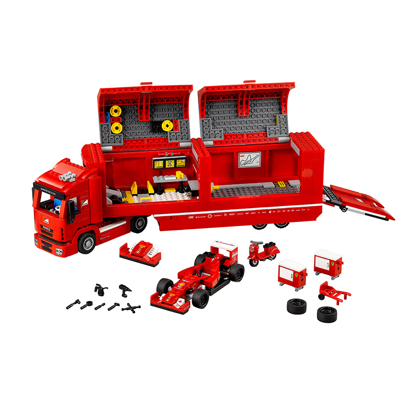 Lepin 21010 Technic Super Racing Car F1 Series The Red Truck Building Blocks Educational Toys For Children Gift 75913 Legoingse lepin 21010 914pcs technic super racing car series the red truck car styling set educational building blocks bricks toys 75913