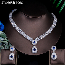 ThreeGraces Tropfen Schmuck-Sets Ohrringe