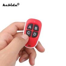 Kebidu mando a distancia eléctrico para puerta de garaje, 433mhz, copia de 4 canales, código de puerta, duplicador RF 433MHZ