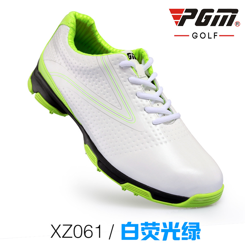 breathable waterproof first layer leather men's golf shoes anti-skid good grip patent design resistant outdoor sport shoes pgm authentic golf shoes men waterproof anti skid high quality male sport sneakers breathable shoes