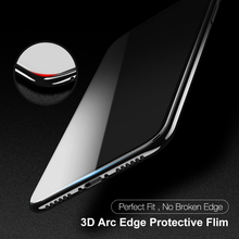 FLOVEME Screen Protector For iPhone X 10 Tempered Glass 9H 3D Protective Film For iPhone 10 Full Cover Soft Edge Phone Protector