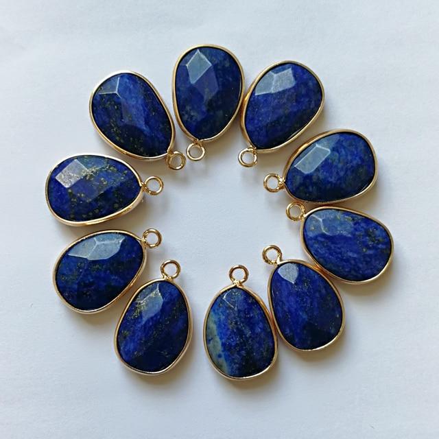 Chinese Lapis Lazuli Donut Pendant 4 cm bXoEvNu1U