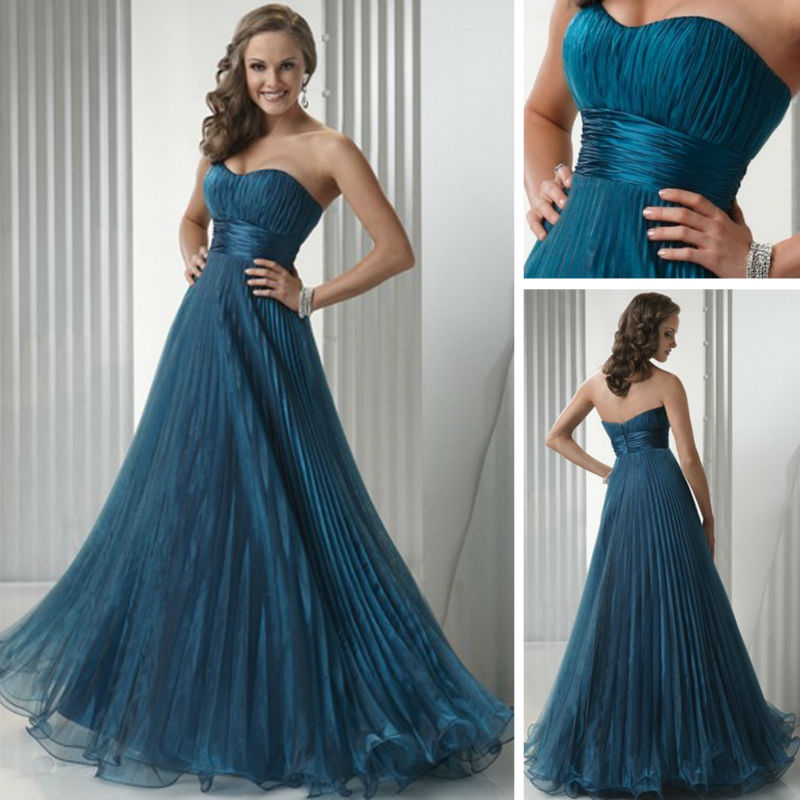 a671c4c60f 12WM34 Maid of Honor Pakistani Fancy Light Blue Wedding Dress 2013 ...