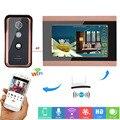 MOUNTAINONE 7-дюймовый Wi-Fi Беспроводной видео Звонок домофона запись Системы с HD 1000TVL проводной Камера Поддержка app домофон запись