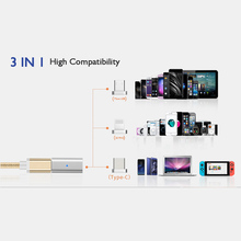 Data Cable Converter Adapter EtopLink Micro USB To Type C 30Pins Micro USB Magnetic Adapter for Android 3in1 Data Cable Converter Adapter Micro USB To Type C