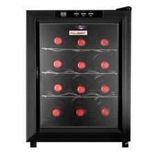 33л 4 слоя JC-33AW винный холодильник постоянная температура винный шкаф влажность маленький домашний ледяной бар винный морозильник сигарный шкаф