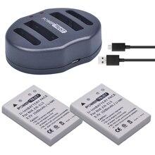 2Pcs 3.7V EN-EL5 ENEL5 Camera Battery + Dual USB Charger for NIKON Coolpix P530 P520 P510 P100 P500 P5000 P5100 P6000 3700 4200