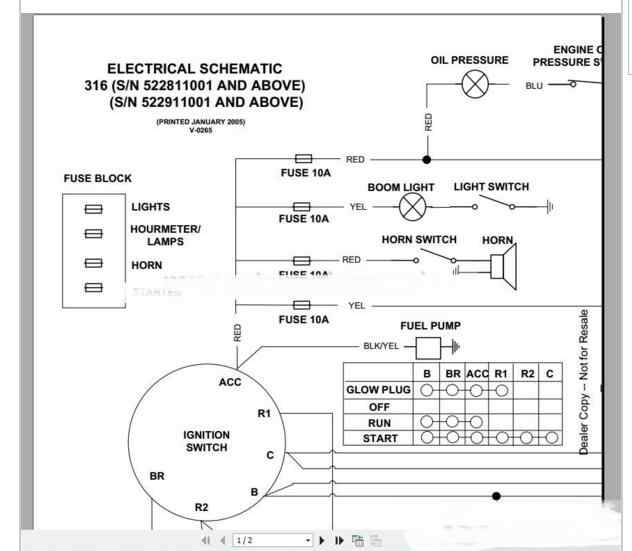 Bobcat Schematics Manual Full Set DVD