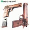 Nueva pistola de Oro Rosa Genuino 4 GB 8 GB 16 GB 32 GB USB 2.0 pendrive stick unidad flash usb de metal flash de alta velocidad