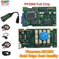 2016 Best Quality PP2000 Diagbox 7 76 V25 Lexia3 V48 With Serial 921815C Full Original Chip