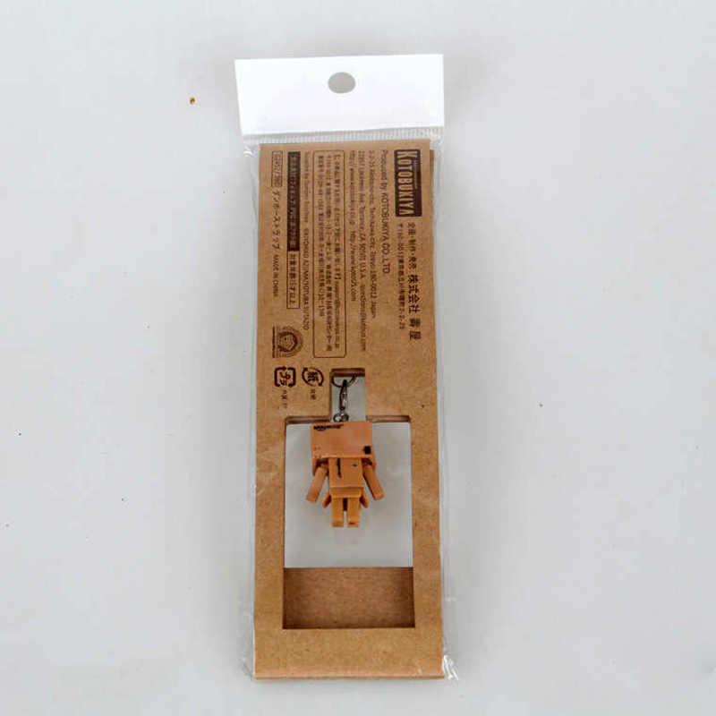 Japanese Anime Mini Danboard Figure Toys Danbo PVC 3CM Collectible Model Action Figures Dolls Mobile Phone Rope Pendant