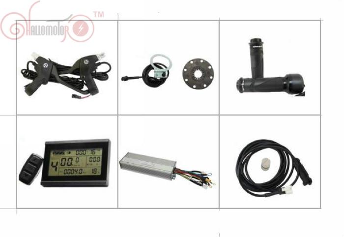 ConhisMotor 36/48V 1000W Brushless DC Sine Wave Ebike Controller Kit Regenerative Reverse Function+LCD3 Etc. For Electric Bike regenerative nephrology