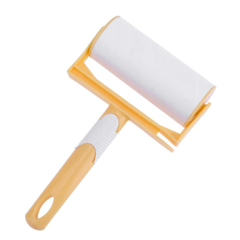 Lint Cleaning Roller Brush Clothes Sticky Hair Carpet Wool Dust Catcher Carpet Sheets Hair Sucking Sticky Cleaning Brush