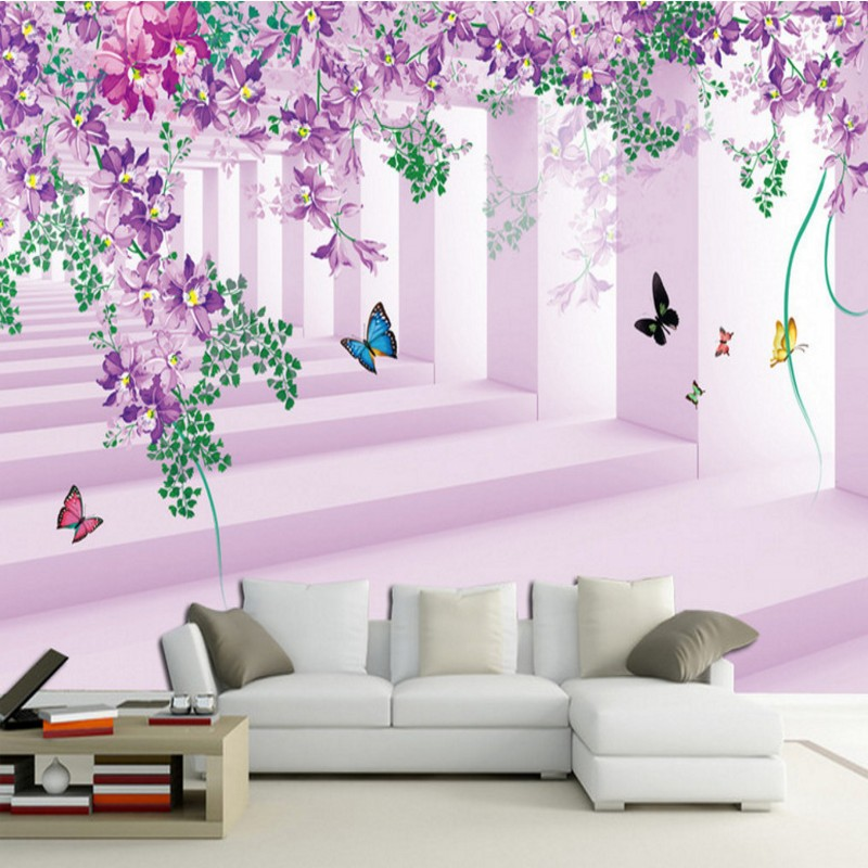 Custom photo wallpaper 3D Stereo Rose Mediterranean Style Living Room TV Wall Mural lobby wallpaper custom bedroom mural custom 3d mural wallpaper european style painting stereoscopic relief jade living room tv backdrop bedroom photo wall paper 3d