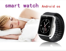 Smart Watch Clock Sync Notifier Support Sim Card Bluetooth Bracelet Touch Screen Mobile Cell Phone Wrist for android ios GT0h