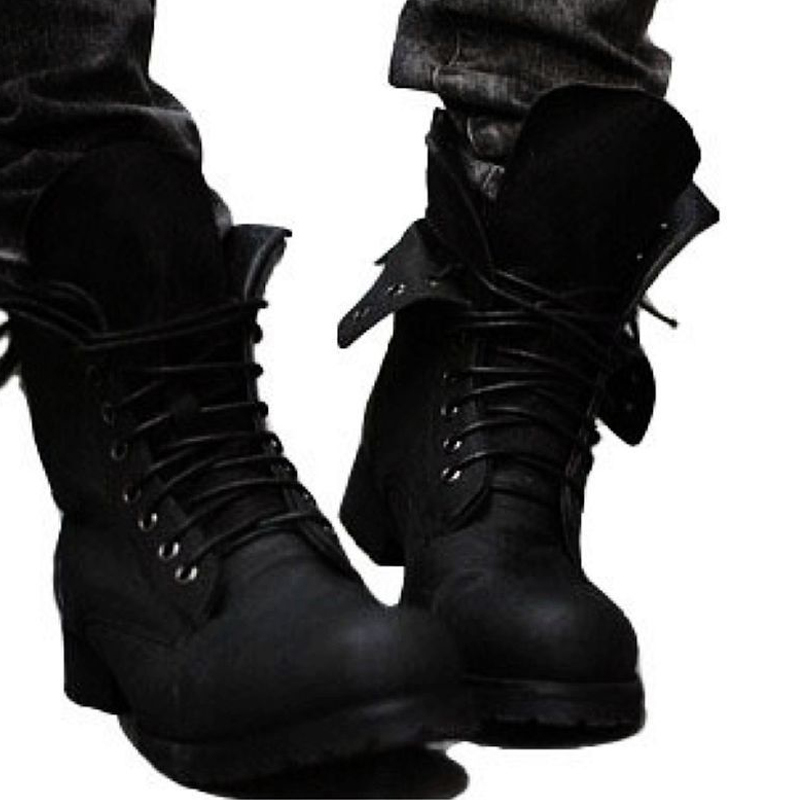 Online Get Cheap Cool Leather Boots for Men -Aliexpress.com ...
