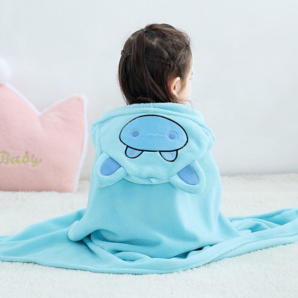 Baby Animal Cartoon Hooded Towel Beach Bath Robes Soft Children Poncho Towels Bathing Suit Towel For Boys Girls Kids Bathrobe 17