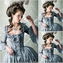 Новинка! Горячая Распродажа, викторианское платье 19 век 1860s, платье Скарлетт из южной красавицы, платья на Хэллоуин, US4-36 C-907