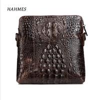 2017 Hot Crocodile Grain Genuine Leather Bag Male Bags Messenger Casual Men S Bag Flap Cross
