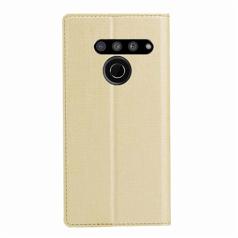 Flip Leather Protective Wallet Cover For LG Stylus5 V50ThinQ Q9 Q6 V30 V20 V10 G6 G5 Coque Phone Magnet Case Business KS0265 in Flip Cases from Cellphones Telecommunications