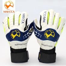 Professional Soccer Goalie Gloves Latex Size 8 9 10 Adult Football Goalkeeper Finger Protector Wholesale