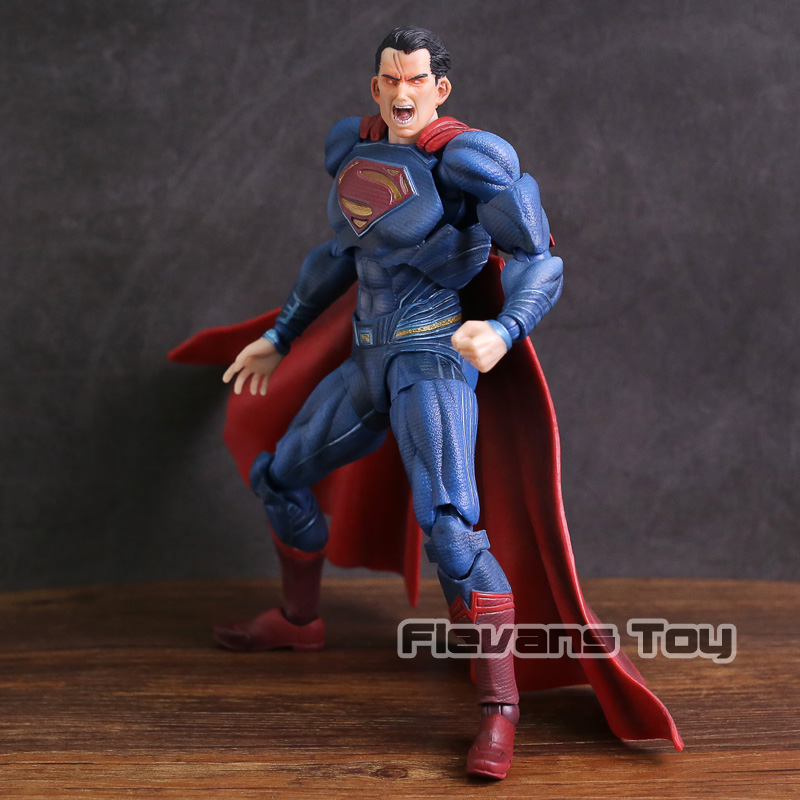 Paly Arts Kai Batman v Superman Dawn of Justice NO.2 Superman PVC Action Figure Collectible Model Toy ...