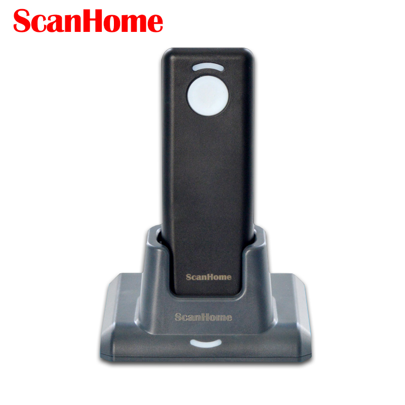 SH-4000 wireless barcode scanner CCD imagine barcode reader QR code PDF417 Data Matrix supermarket barcode gun Easy Charging