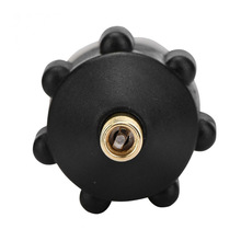 Rowing Boat Air Valve Adaptor Copper + rubber Board Kayak Pump Adaptor Set Inflatable Air Black Valve