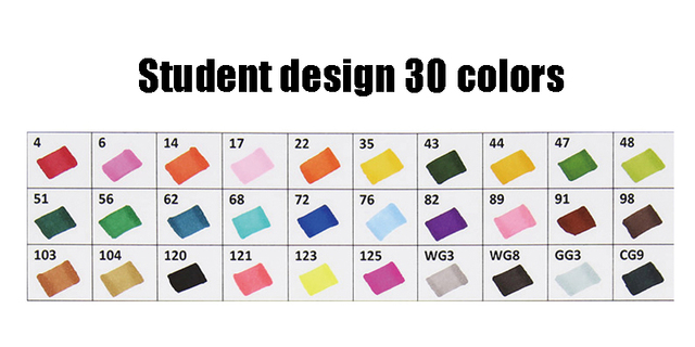 30 Student design
